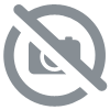 Bath towel embroidered with the effigy of the two Odin's corbins